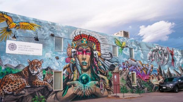 Denver Friday Art Walk Alive Day Of Dead