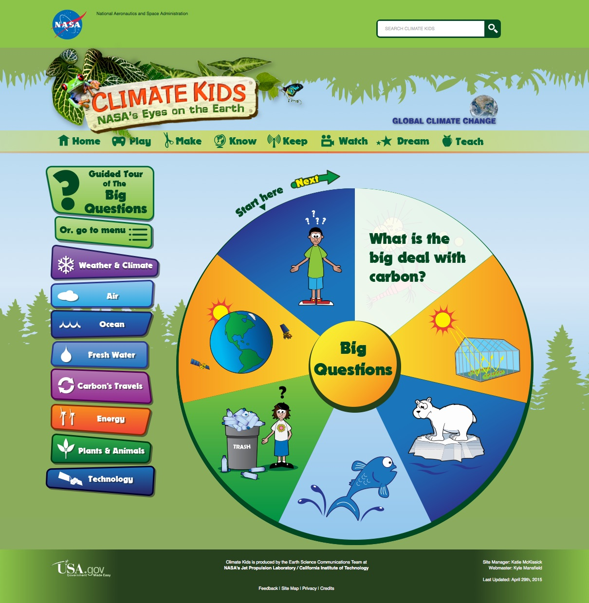 What Is Climate Change For Kids
