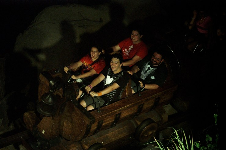 Seven Dwarfs Mine Train Ride Photo