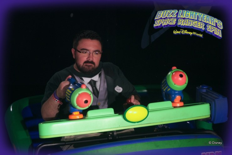 Buzz Lightyear Ride Photo
