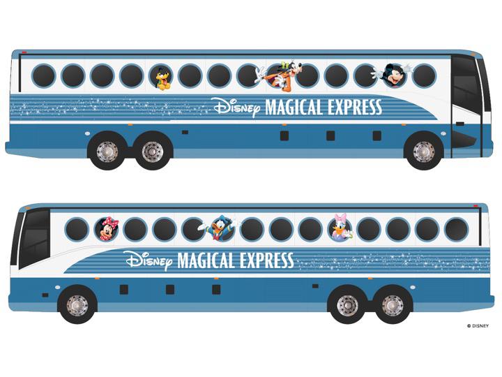 New Design for Disney Magical Express
