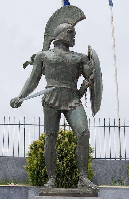 Meaning origin and history of the name Leonidas  Behind