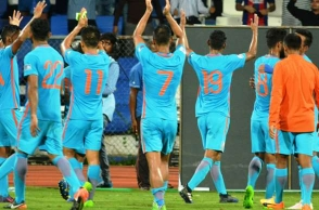 India placed at No.96 in latest FIFA rankings
