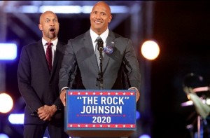 'The Rock' registered for 2020 US Presidential elections