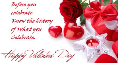 Behind the History of Valentine's Day 110 Behind History