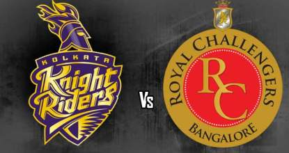 Kolkata Knight Riders vs Royal Challengers Bangalore