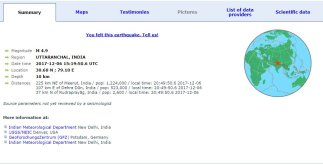 Breaking News: Earthquake at National Capital Delhi 4 Behind History