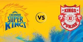 Chennai Super Kings vs Kings XI Punjab   56th Match   Dream11 Team 2 Behind History