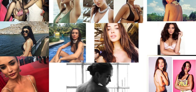 Unseen Hot Pics of Amy Jackson 1 Behind History