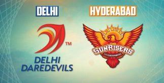 Delhi Daredevils vs Sunrisers Hyderabad   42nd Match   Dream11 Team 4 Behind History