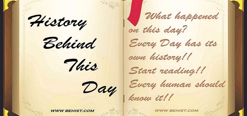 History Behind this Day | Back to 15-Nov | Today in History 1 Behind History