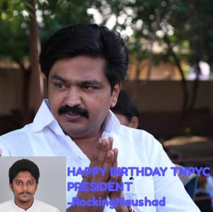 Happy Birthday TamilNadu Youth Congress President Hassan Haroon 2 Behind History