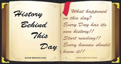 Behind History For November 12 - Today in History 70 Behind History