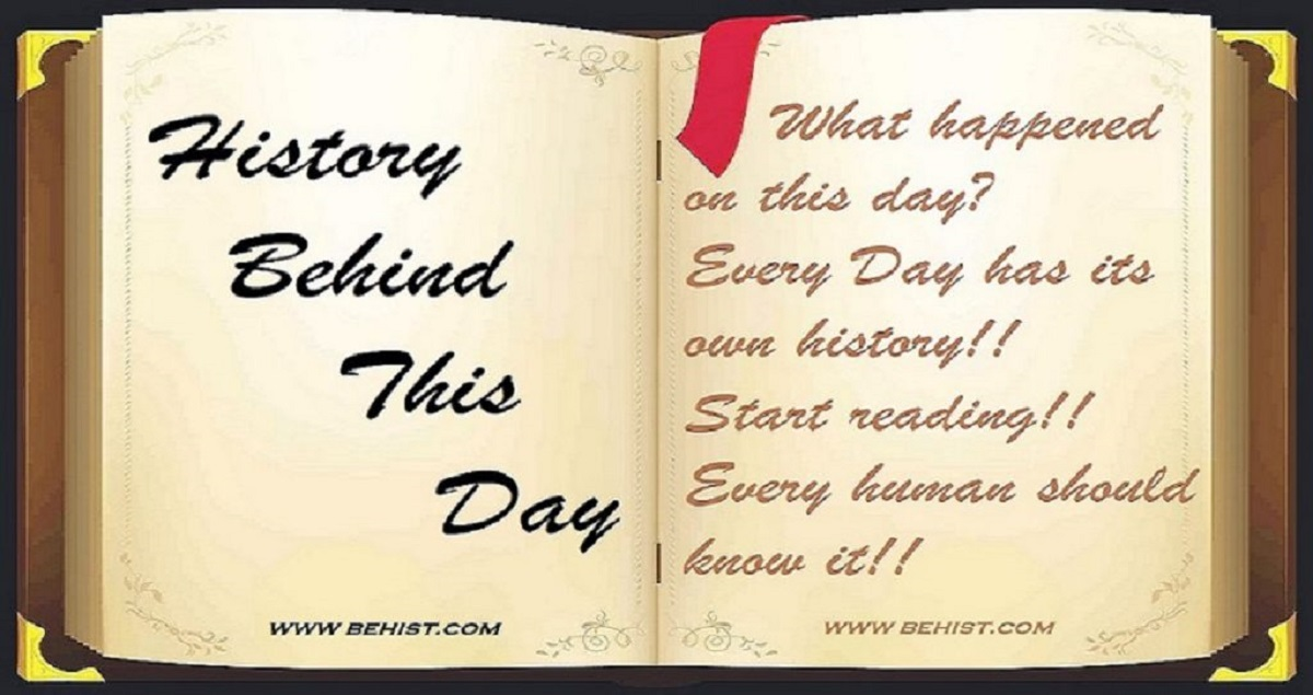 Behind History For June 5 - Today in History 1 Behind History
