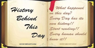 Behind History For November 13 - Today in History 4 Behind History