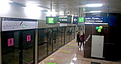 Chennai Metro Will Display Train Timings at Bus Stops 9 Behind History