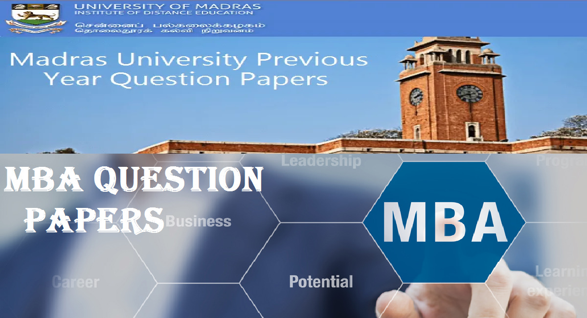 Strategic Cost Management MBA Question Paper University of Madras Distance Education May 2014 1 Behind History