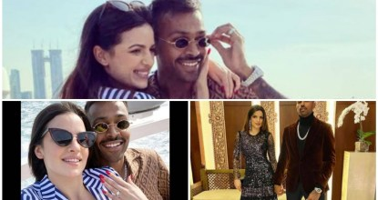 Hardik Pandya Announces Engagement To Natasa Stankovic 4 Behind History