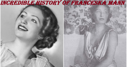 Incredible History of Franceska Mann 4 Behind History