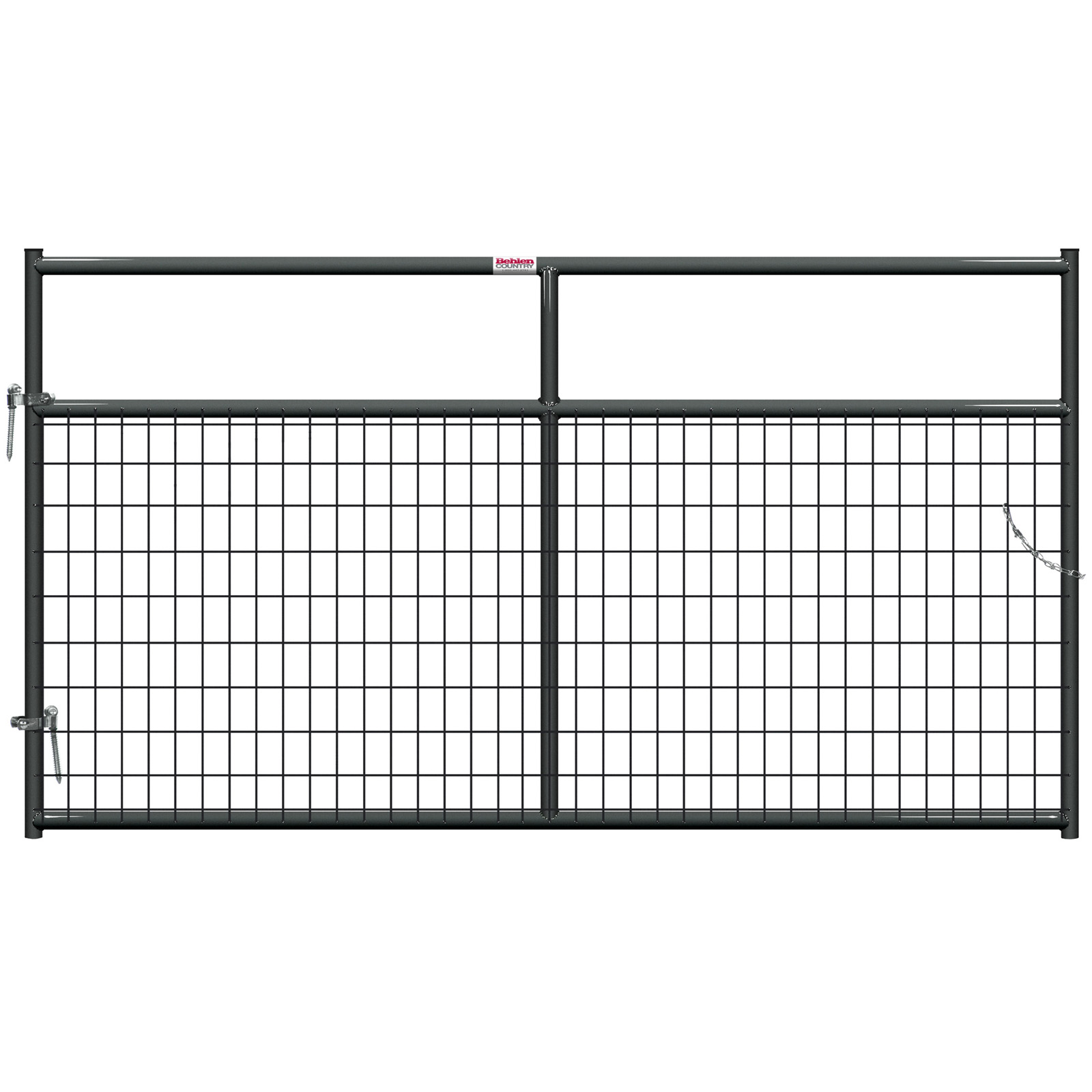 Gate Mesh Painted