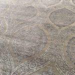 Fine area rug; India, Wool-Bamboo Silk Rug