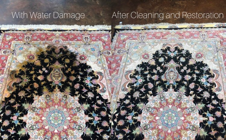 Water Damage Rug Restoration | Behnam Rugs Dallas