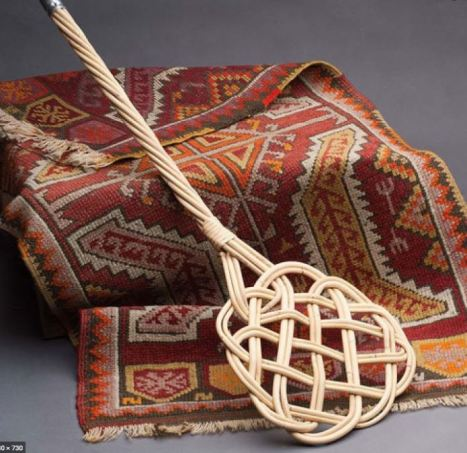 Rug beater and rug