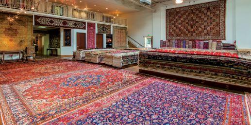 The Behnam Rugs Showroom