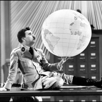 #BehotsikGraffiti El Gran Dictador Charles Chaplin