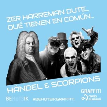 #BehotsikGraffiti Händel Scorpions