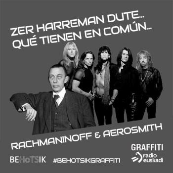 #BehotsikGraffiti Aerosmith Rachmaninoff