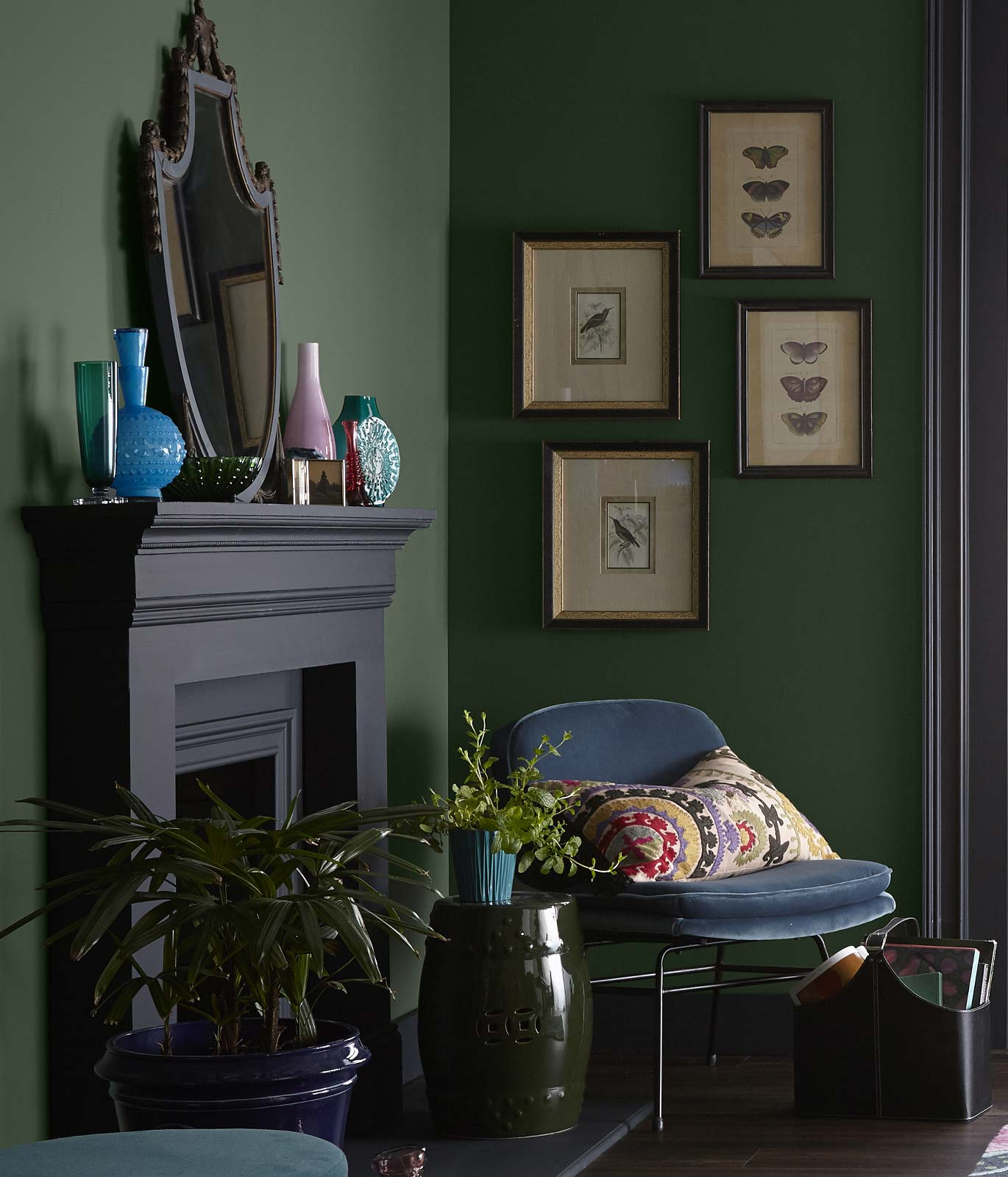Quiet Haven Color Palette   Paint Color Trends 2021   Behr
