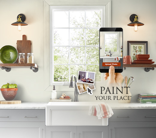 Paint Your Place Preview Colors