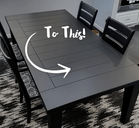 painted tables and chairs wooden chair with arms diy dining room table refinishing project behr how to refinish a set
