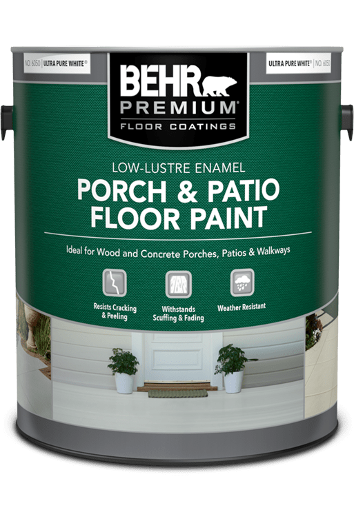 porch and patio floor coating products