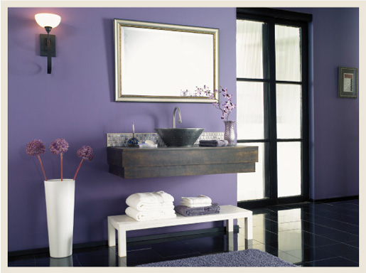 colorfully behr bathroom color