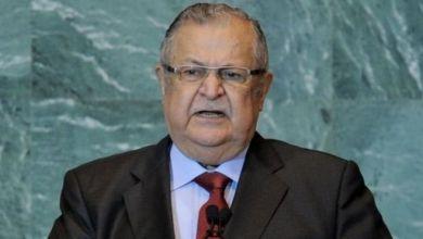 صورة وفاة الرئيس العراقي السابق جلال الطالباني