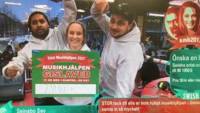 """صورة السويد : مهرجان كرون """"Musikhjälpen"""" يحصد تبرعات بقيمة 74 مليون"""