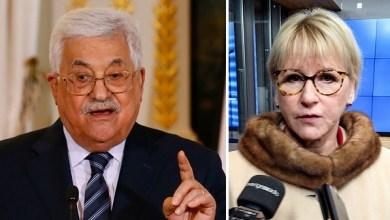 """صورة """"عباس"""" يطلب من دول الاتحاد الأوروبي الاعتراف بالدولة الفلسطينية"""