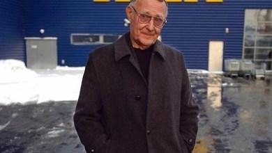 """صورة السويد : رحيل الملياردير السويدي """"إنغفار كامبراد"""" مؤسس شركة """"إيكيا"""" العملاقة"""