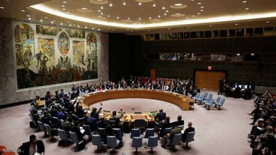 صورة مجلس الأمن : يقر هدنة إنسانية في سوريا