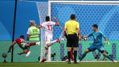 صورة المغرب تتلقى هزيمة امام ايران بعد هدف عكسي بالوقت القاتل