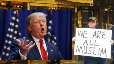 صورة مايكل مور يطلق فيلمه الجديد الذي يسخر فيه من ترامب