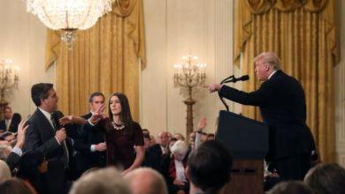 صورة اندلاع معركة جديدة بين الإعلام الأمريكي والبيت الأبيض