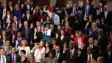 """صورة امرأتان فلسطينية وصومالية في الكونغرس الأمريكي وصفت بلحظات """"تاريخية"""""""