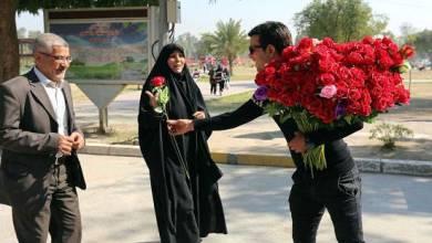 صورة تحية وتهنئة بمناسبة يوم المرأة العالمي .