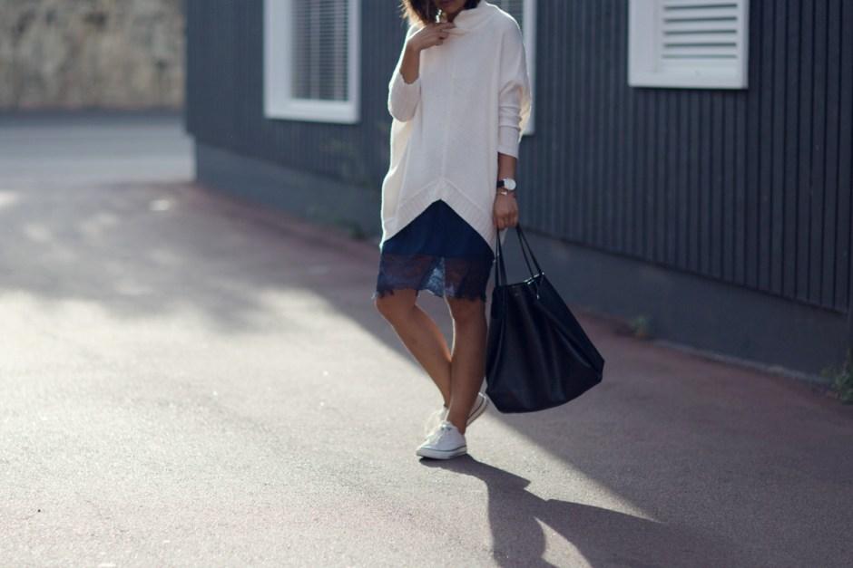 Pol Oversized Knit Lace Skirt Converse Celine Cabas Beige Renegade-8-2 copy