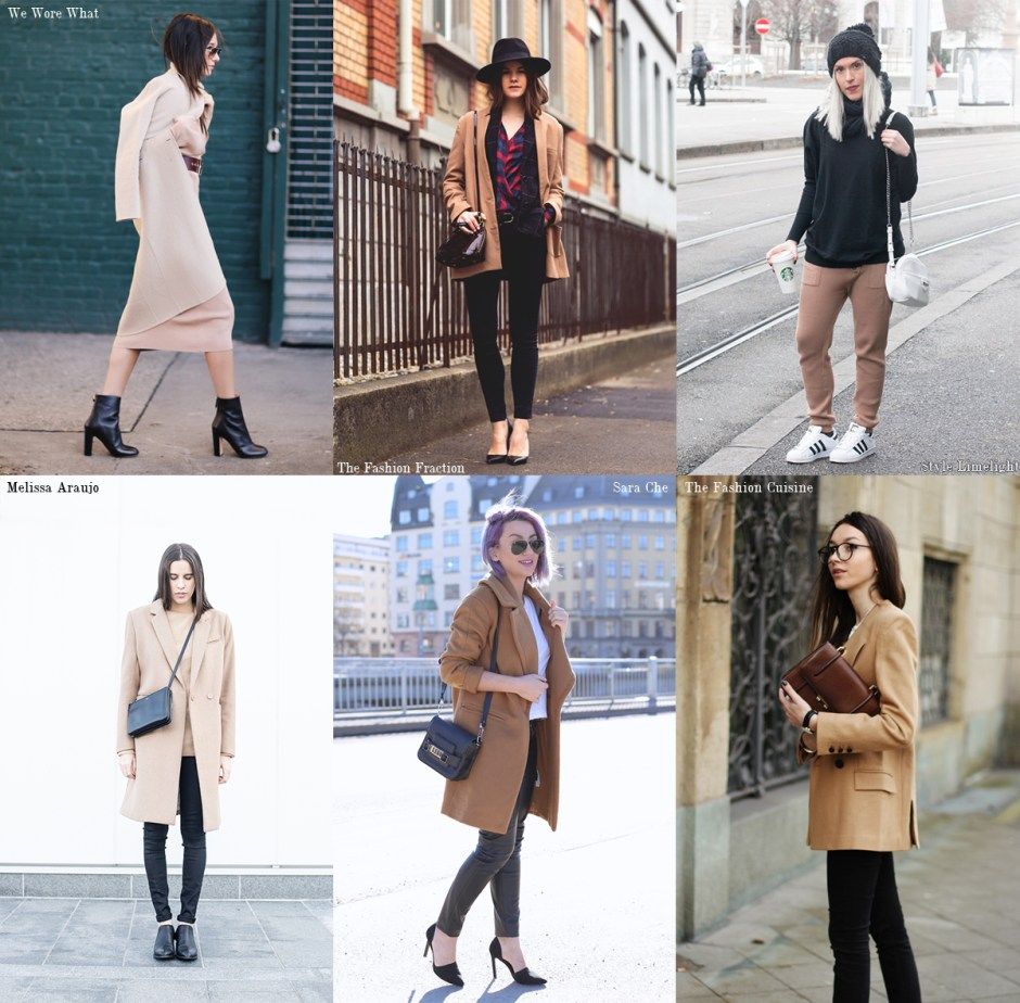 bloggers who wear camel