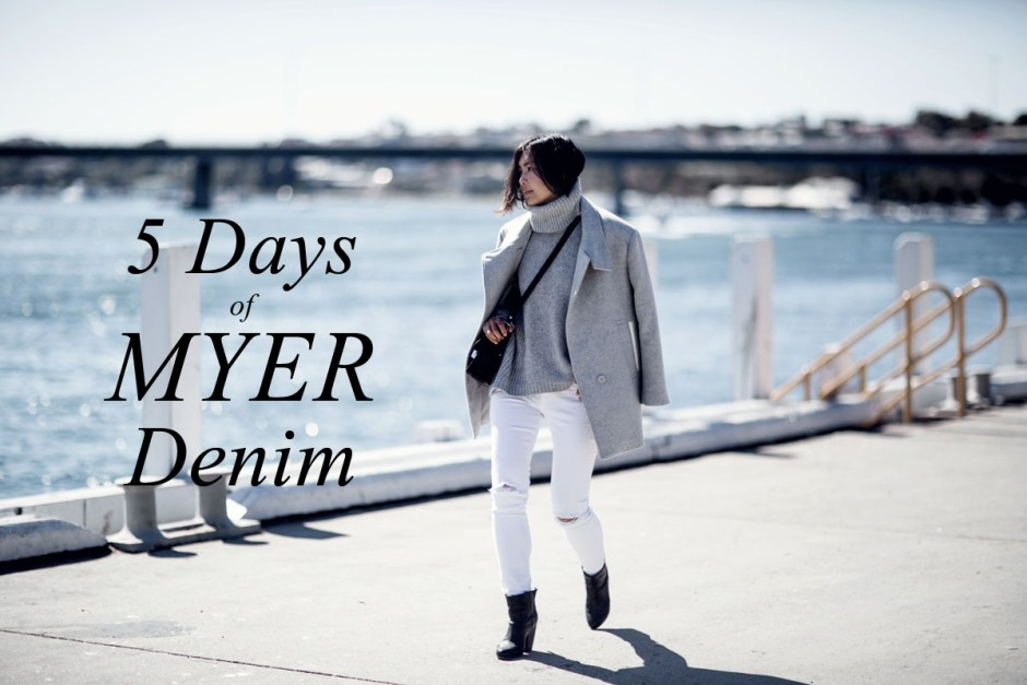 5 days of myer denim