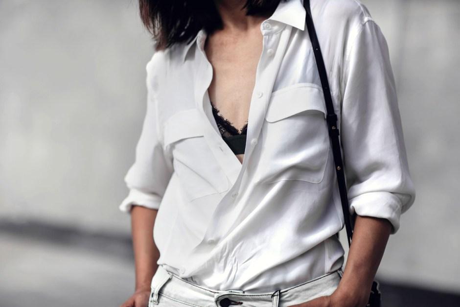 equipment silk shirt tibi mules celine trio outfit streetstyle-5 copy